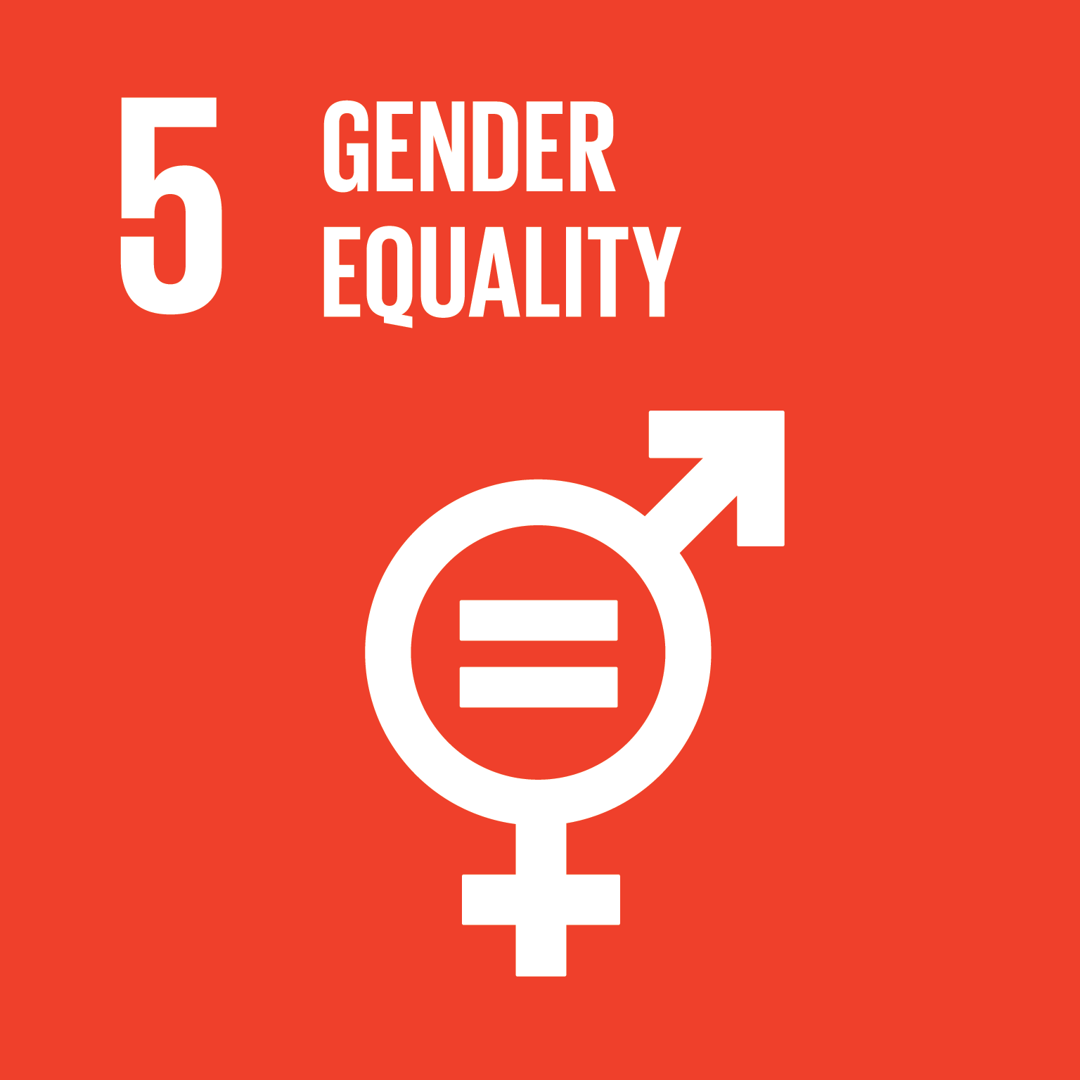 Gender equality logo.
