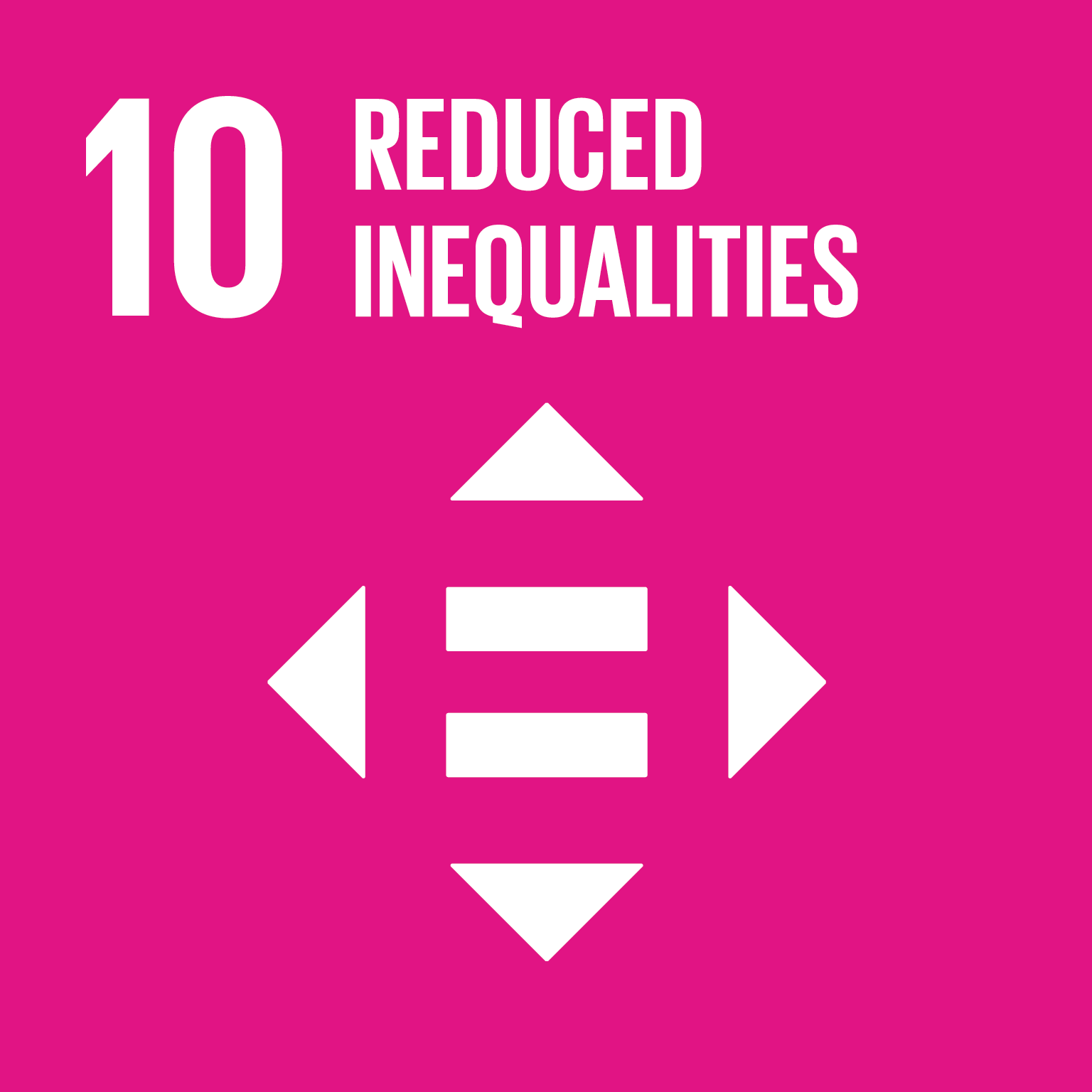 Reduced inequalities logo.