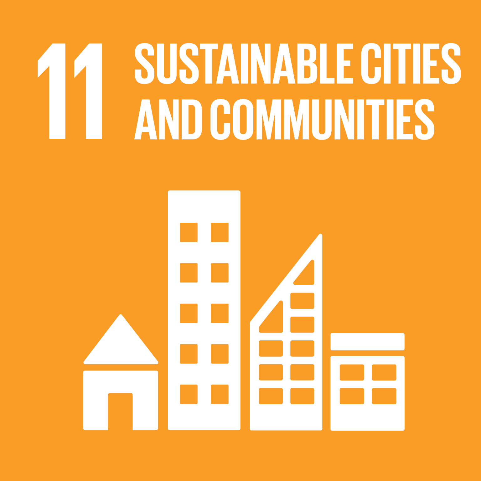 Logo for: Sustainable Cities and Communities